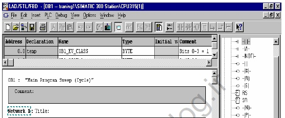جزوه آموزشی کاربردی نحوه استفاده و آشنایی با PLC خانواده زیمنس و نرم افزار مربوطه تحت عنوان Simatic S7 Siemens Industrial Automation